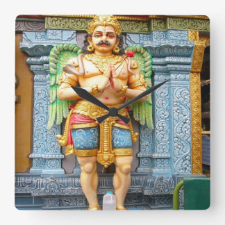 Welcome to the Hindu temple Square Wall Clocks