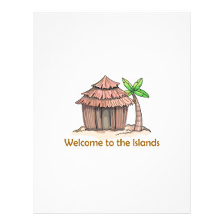 Welcome to the island letterhead