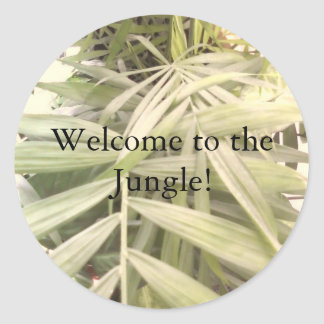 Welcome to the Jungle! Classic Round Sticker