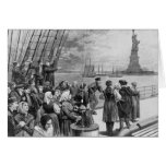 Welcome to the Land of Freedom from Ellis Island Greeting Card