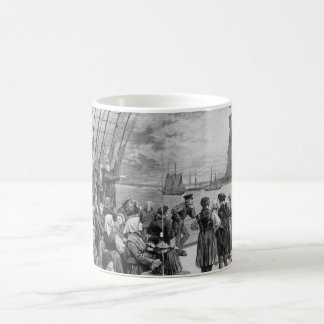 Welcome to the Land of Freedom from Ellis Island Coffee Mug