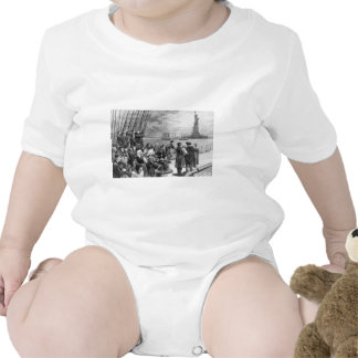 Welcome to the Land of Freedom from Ellis Island Tee Shirts