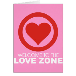 Welcome to the Love Zone Card