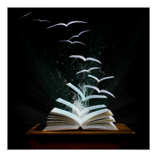 Welcome to the magical world of reading! poster