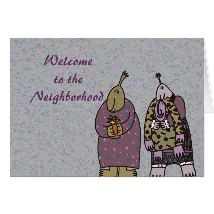 welcome to the neighborhood card