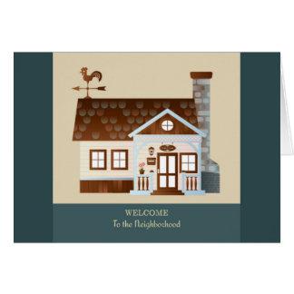 Welcome to the Neighborhood Greeting Card