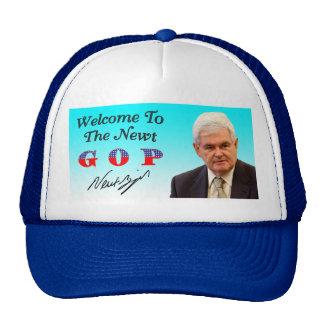 Welcome To The Newt GOP Trucker Hat