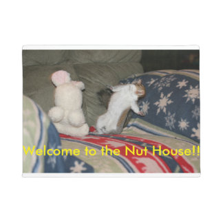 Welcome to the Nut House Spunky Doormat
