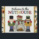 """Welcome to the Nuthouse Christmas Yard sign<br><div class=""""desc"""">design by Cheryl Seslar at www.digiwebstudio.com candy by Darq Illusions</div>"""