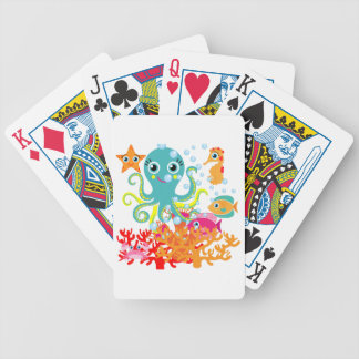 Welcome to the Ocean Bicycle Card Decks