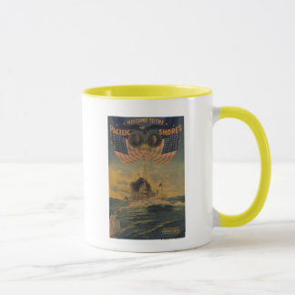Welcome to the Pacific Shores. Flagship Connecticu Mug