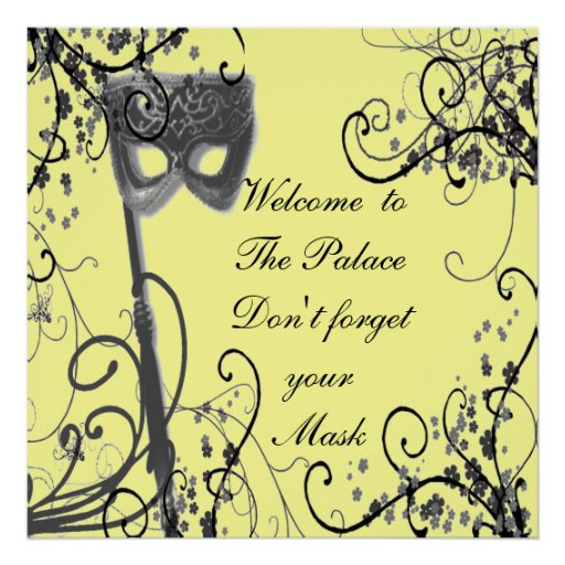 Welcome to the Palace Print