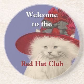 welcome to the Red Hat Club Coasters