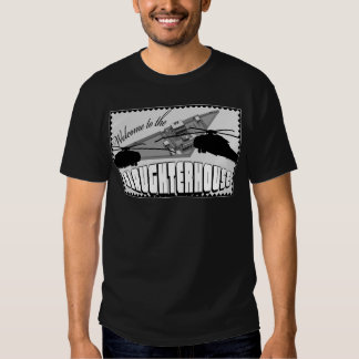 Welcome to the Slaughterhouse black T-shirt