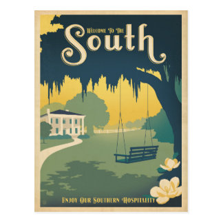 Welcome to the South Postcard