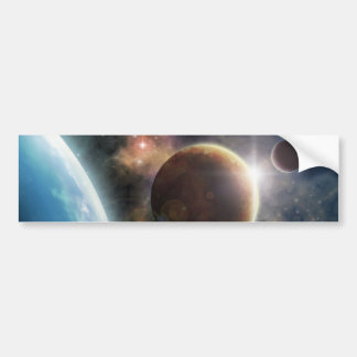 Welcome to the Space Bumper Sticker