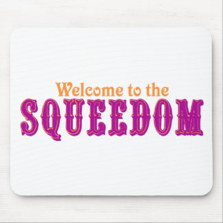 Welcome to the Squeedom Mouse Pad