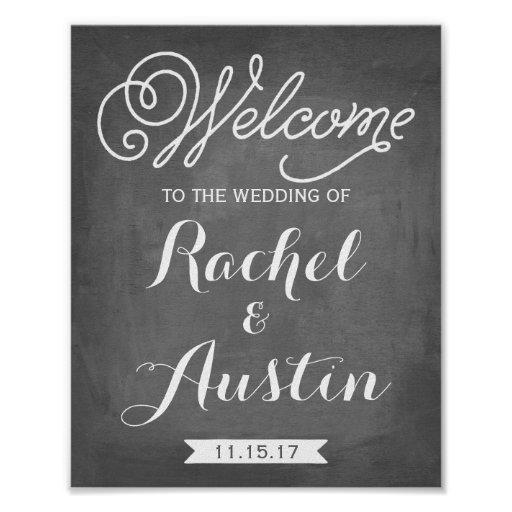 Welcome To The Wedding Sign Wedding Decor