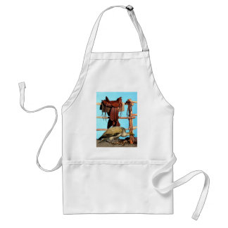 WELCOME TO THE WILD WEST ADULT APRON