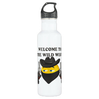Welcome To The Wild West Water Bottle