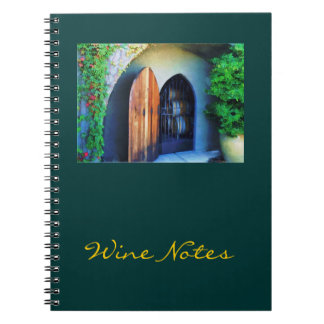 Welcome to the Winery Notebook