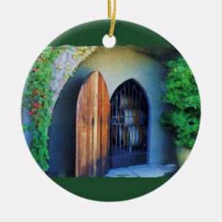 Welcome to the Winery Christmas Ornament