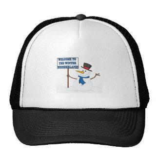 Welcome To The Winter Wonderland Trucker Hat