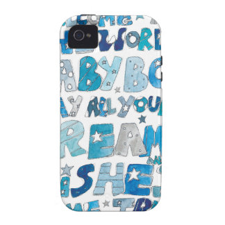 Welcome To The World Baby Boy Case-Mate iPhone 4 Cover