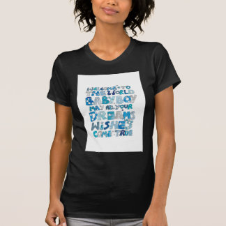 Welcome To The World Baby Boy T-Shirt