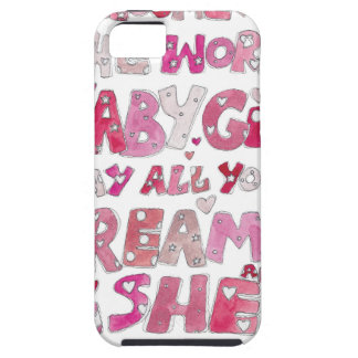 Welcome To The World Baby Girl iPhone 5 Cases
