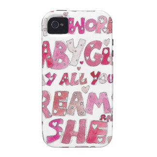 Welcome To The World Baby Girl iPhone 4 Case