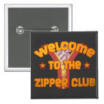Welcome to the Zipper Club 2 Inch Square Button