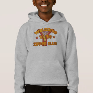 Welcome to the Zipper Club Hoodie