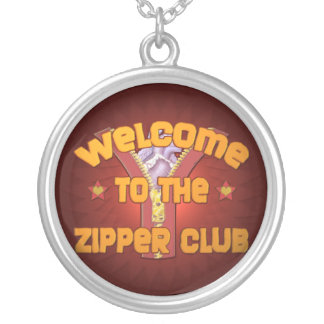 Welcome to the Zipper Club Personalized Necklace
