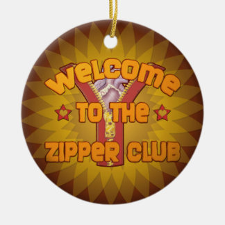 Welcome to the Zipper Club Ornaments