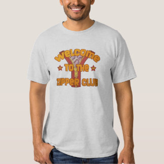 Welcome to the Zipper Club Tee Shirts