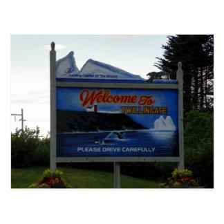 Welcome to Twillingate, Newfoundland Postcard