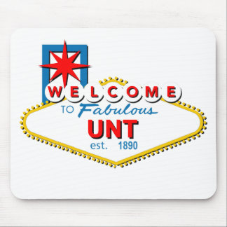 Welcome to UNT Mouse Pad