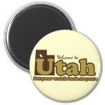 Welcome to Utah Parody Fridge Magnets
