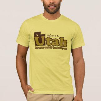 "Welcome to Utah Parody humorous ""mr funny"" T-Shirt"