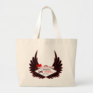 Welcome to Vega Large Tote Bag