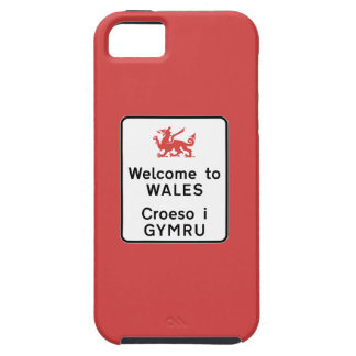 Welcome to Wales Sign, UK iPhone SE/5/5s Case