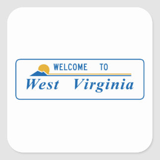 Welcome to West Virginia - USA Sticker