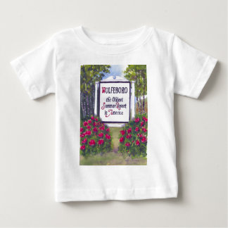 Welcome to Wolfeboro NH Sign T-shirt