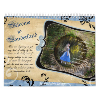 Welcome to Wonderland Calendar