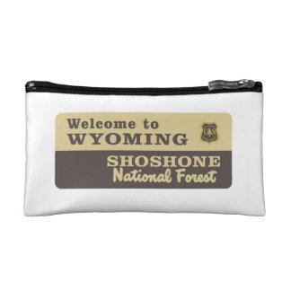 Welcome to Wyoming - USA Cosmetic Bag