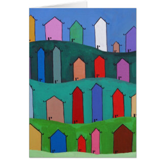 Welcome to your new home. greeting card
