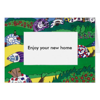 Welcome to Your New Home Greeting Card