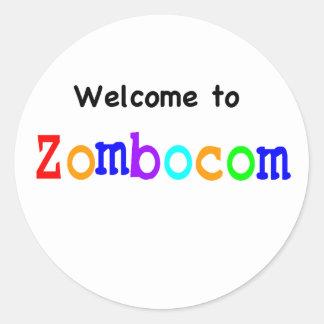 Welcome to Zombocom Classic Round Sticker