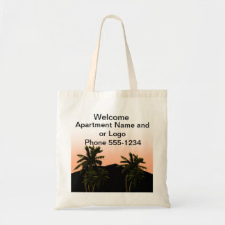 Welcome tote canvas bags